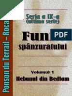 Ponson Du Terrail Rocambole 9 Funia Spanzuratului 1 Nebunul de La Bedlam