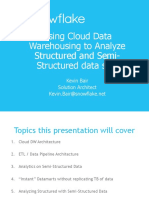 Data Masters - Datawarehousing in the Cloud