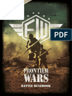 Rulebook Frontier Wars English