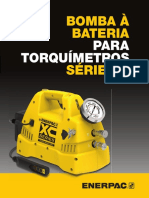 XCTW Cordless Torque Wrench Pump Tech Brochure Pt-br