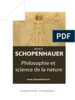 Philosophie Et Science de La Nature