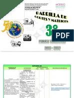 3er Grado Parrilla 2018-2019