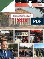 Bilan de Mandat parlementaire 2018
