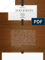 Topic 2 Wood Joints