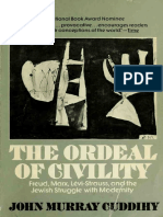 "Cuddihy, J. M. 1974. ""The Ordeal of Civility"