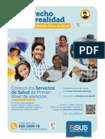 Servicios que atenderá el SUS en Bolivia