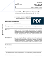 FD P 18-717 (2013) - Guide d'Application Des Normes NF en 1992