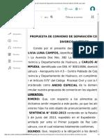Propuesta de Convenio de Separación Convencional y Divorcio Ulterior de Ruth Luna Listo.pdf