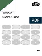 UsersGuidev1.20_W8200