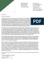 Mike Long Letter of Resignation