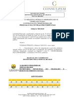 GABARITO do Processo Seletivo Simplificado/Granja-CE 2019