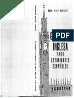 Gramatica Inglesa Para Estudiantes Españoles