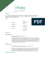 krysstal pixley resume