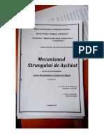 UTM - Proiect de An - Mecanismul Strungului de Aschiere - TMM