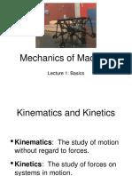 Mechanics of Machine - Lecture 2