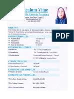 Curriculum Maria Ramona Severino
