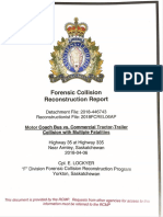 RCMP forensic collision report in the Humboldt bus crash