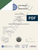 Cert Greenwich Exam