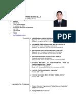CV Mayckol Pérez Quintanilla