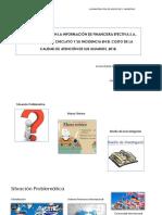 La Transparencia en La Información de Financiera Efectiva