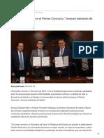 """21-01-2019 - Invitan a participar en el Primer Concurso """"Jóvenes hablando de Salud"""" - Termómetroenlínea.com"""