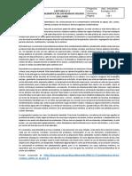 Lectura N° 3 Problematica de los residuos sólidos en el Perú