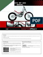 Manual Montesa 4RT 05