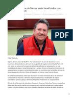 23-01-2019 - Productores del sur de Sonora serán beneficiados con apoyos y estímulos -elsoldehermosillo.com.mx