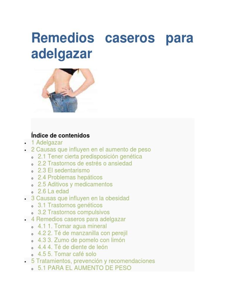 e20d9a0de514 Remedios caseros para adelgazar   Asma   Acidez