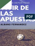 Apuestas Deportivas_ Vivir de l - Albano Fernandez Fernandez
