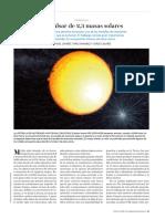 Un Púlsar de 2,3 Masas Solares