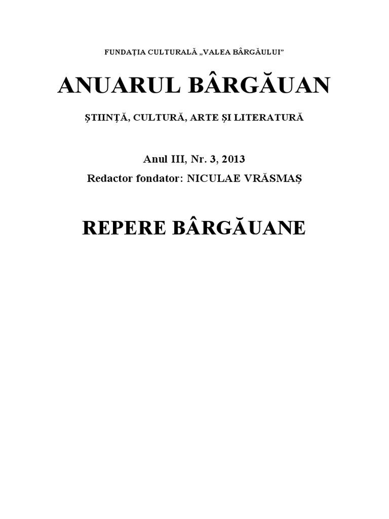Anuarul Bargauan 2013 Tehnopdf