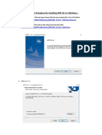 SOP for Installaing SAS JMP 13.1.pdf