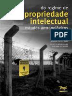 Do Regime de Propriedade Intelectual - Estudos Antropológicos