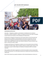23-01-2019 -Trabajadores Exigen Rescate Del Isssteson -Eluniversal.com.Mx