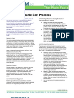Cleaning for Health - Best Practices