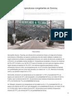 23-01-2019 -Amanece con temperaturas congelantes en Sonora Yécora -7 - Opinionsonora.com