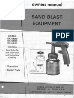 Sears Sand Blast Equipment_106.168xxx_Owners Manual - Nov 1974