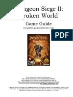 Dungeon Siege II Broken World PC (In English)