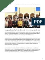 27-01-2019 Inaugura Claudia Pavlovich Centro de Convenciones de Álamos - Kisco Mayor