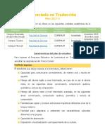 Licenciatura en Traducción UABC