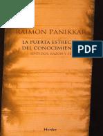 La puerta estrecha del conocimiento.pdf