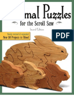 Animal Puzzles for the Scroll Saw