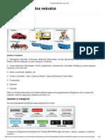 Classificação Dos Veículos