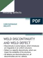 Weld Defects Railways