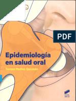 epidemiologia en salud oral  teresa muñoz