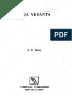 Studies in Ramanuja Vedanta Bhat