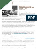 Agência FAPESP 2018_ Excesso de CO2 no ar intensifica a expiração ativa durante o sono.pdf