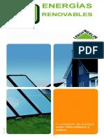 ENERGÍAS RENOVABLES. Guía. Tu Proyecto de Energía Solar Fotovoltaica y Eólica COD. 0305