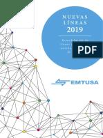Nuevas Lineas Emtusa 2019